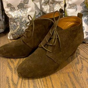 Women's Nine West Illusion Suede Ankle Booties